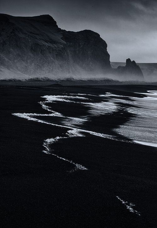Vik Beach Iceland black sand