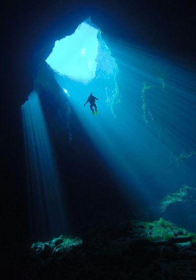 deep sea canyon